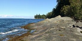 360 of Pebble Beach, Galiano Island, B.C.
