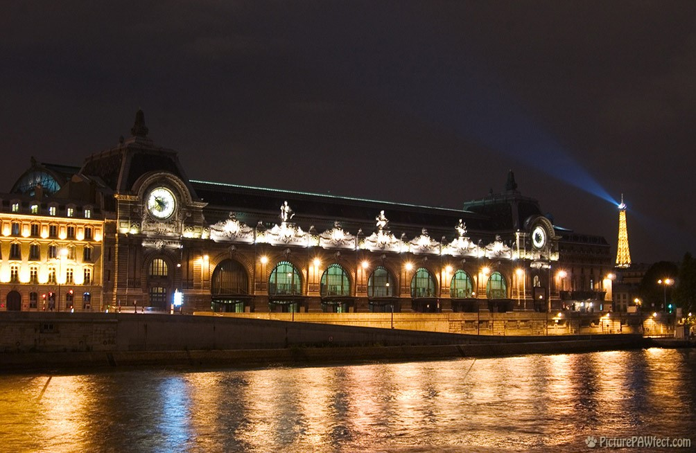 Le Musée d'Orsay in Paris (David's France Gallery)