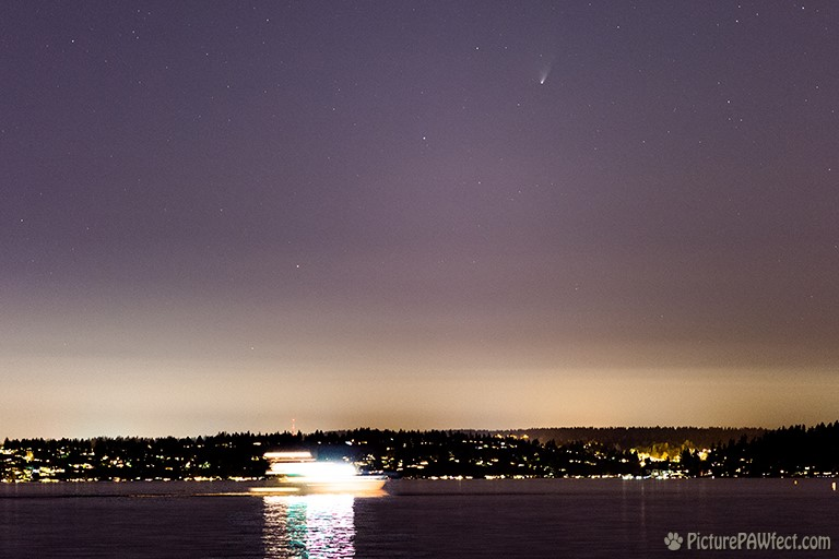 Comet PanSTARRS from Kirkland (105mm) (Sky & Space Gallery)